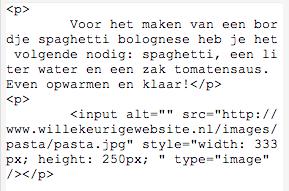 voorbeeld code push2press