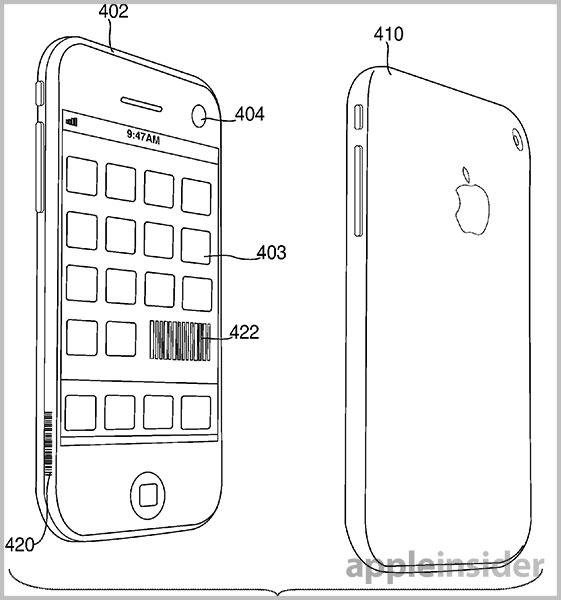 iPhone digital handshake patent