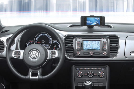 Volkswagen iBeetle binnenkant