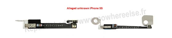 iPhone 5s onbekend onderdeel