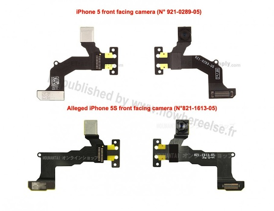 Frontcamera iPhone 5S