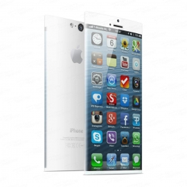 Rond iPhone 6 concept wit