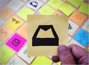 mailbox-post-it