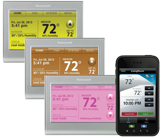 Honeywell kondigt slimme Wi-Fi-thermostaat aan