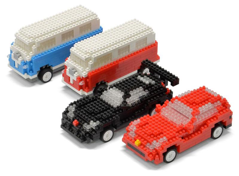 Mini Brick Car