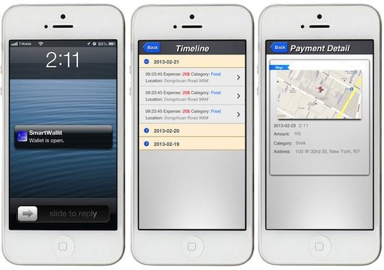 SmartWallit app