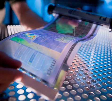 Flexibel scherm smartphone