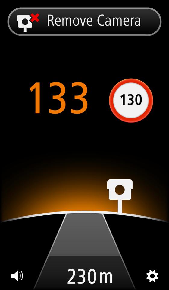 TomTom Flitsers snelheidswaarschuwing iPhone