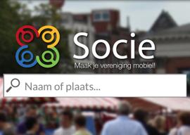 Socie iPhone Android app voor verenigingen