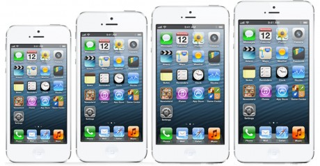 iPhone 4S, iPhone 5, iPhone phablet