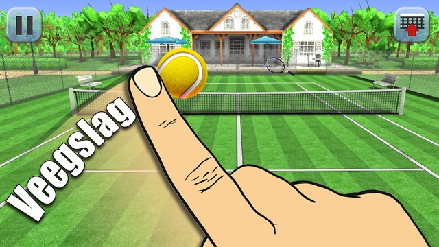 Hit Tennis 3 voor de iPhone.