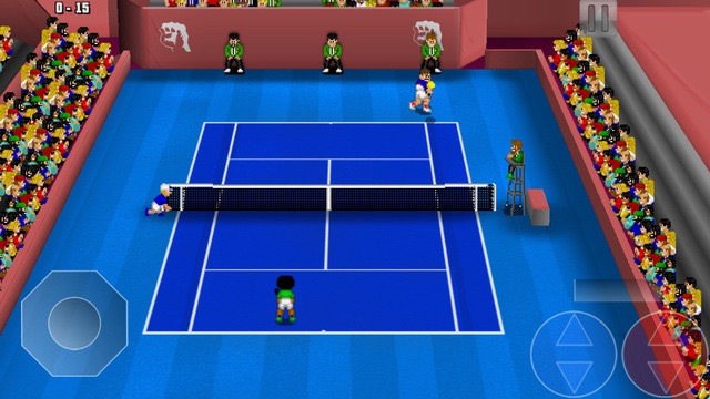 Tennis Champs Returns voor de iPhone.