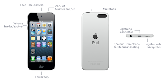 iPod touch 16 GB specs