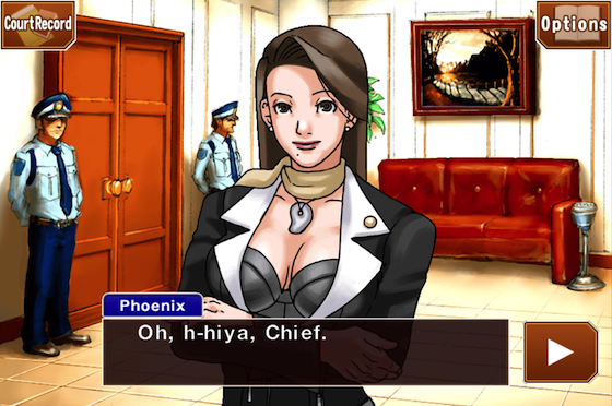 Phoenix Wright Mia