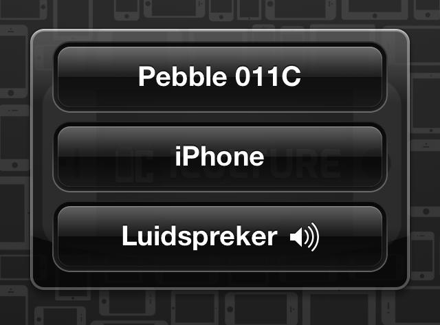iPhone telefoongesprek luidspreker