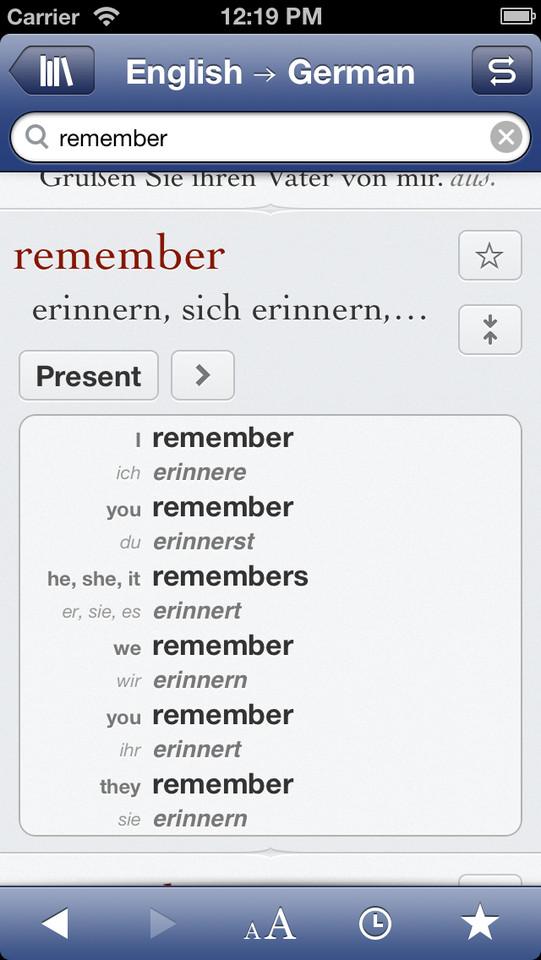 Ultralingua woordenboek Engels Duits
