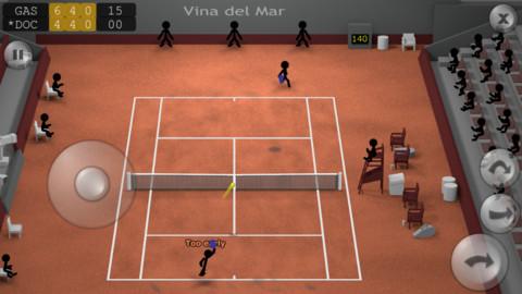 GU MA Stickman Tennis iOS