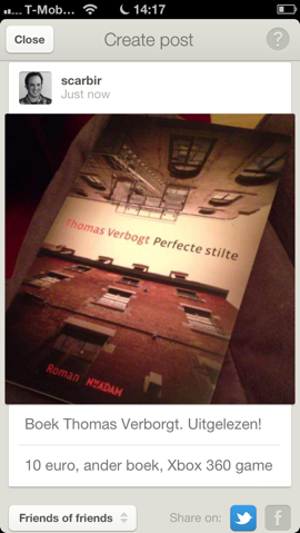 Bondsy boek in de verkoop