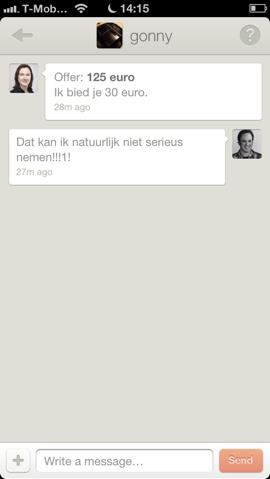 Bondsy chat om product