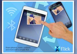 Flick bestanden uitwisselen tussen iOS en Android