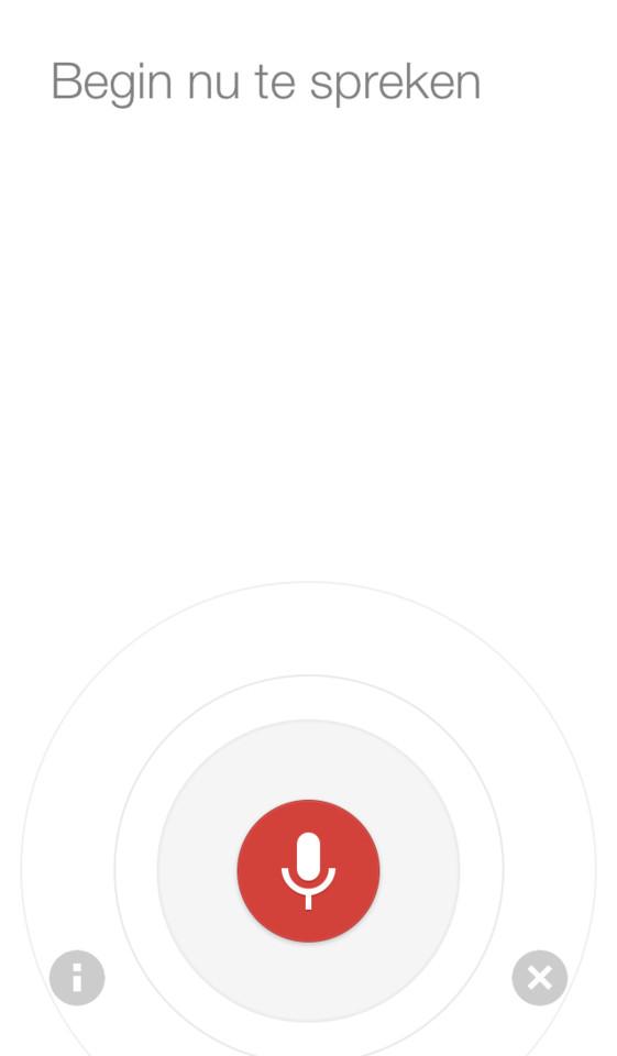 Google Chrome spraakfunctie