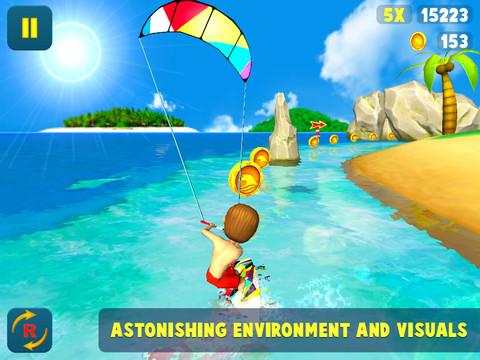 GU WO Kite Surfer iPad iPhone