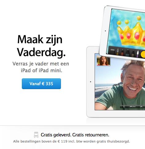 Nieuwe online Apple Store