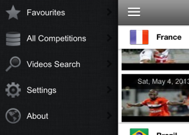 Goal Tube voetbalsamenvattingen op iPhone header