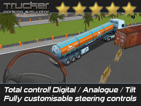 GU DI Trucker Parking Simulator screenshot