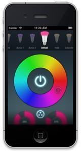 quickhue snel kleuren van philips hue lampen aanpassen met nederlandse app. Black Bedroom Furniture Sets. Home Design Ideas