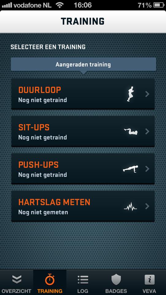 VeVaFit type trainingen