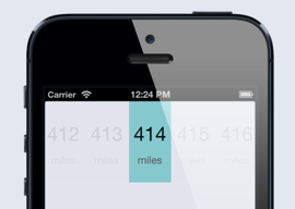 Klicks Mileage Tracker iPhone header