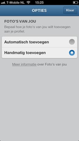 Instagram instructies handmatig delen