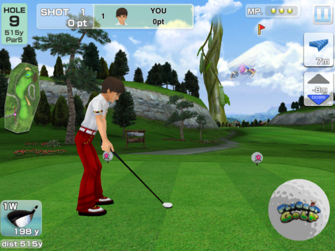 GU DI Flyshot Golf iPad iPhone