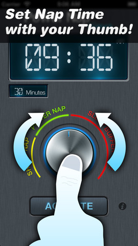 power nap timer iphone