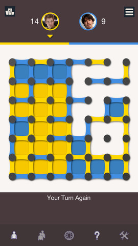 GU MA Dots and Boxes screenshot