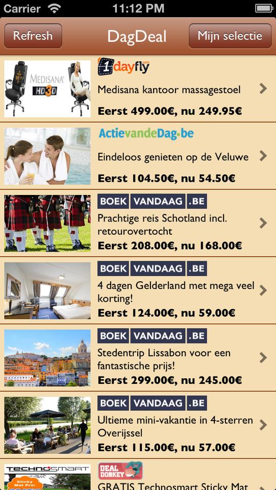 DagDeal NL overzicht kortingen