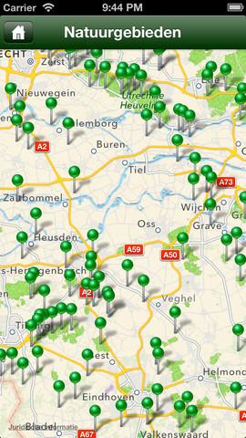 wandelen nederland iphone
