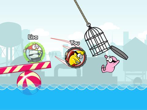 GU WO BOOM in het water vallen iPhone