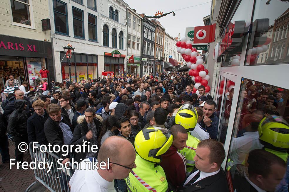 Chaos Kampen Vodafone iPhone 5