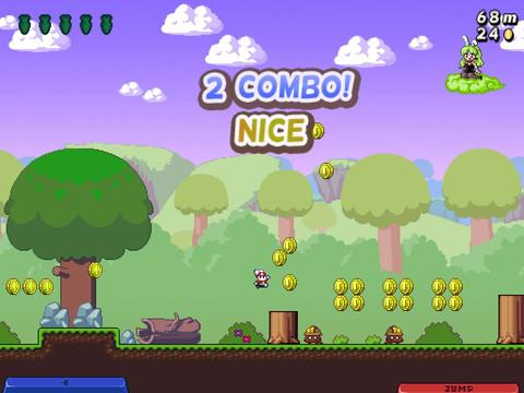 GU DI Super Bunny Land iPad screenshot