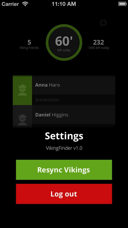 VikingFinder resync contacten