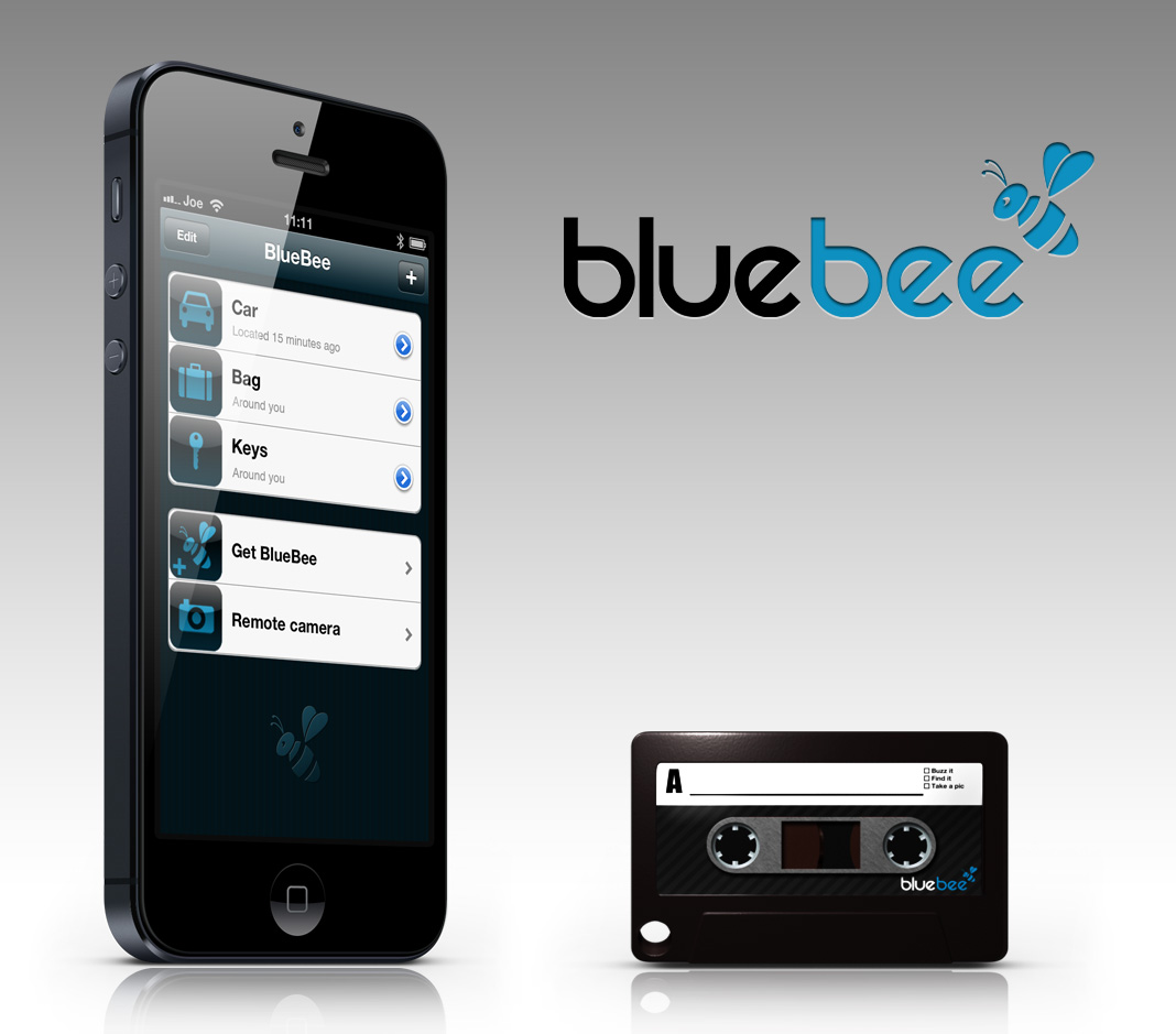 bluebee sleutelbos terugvinden met je iphone via andere gebruikers. Black Bedroom Furniture Sets. Home Design Ideas
