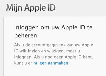 Apple ID phishing