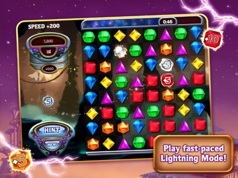 ICD Bejeweled HD iPad