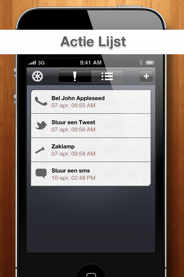Handige iPhone tools Act Later