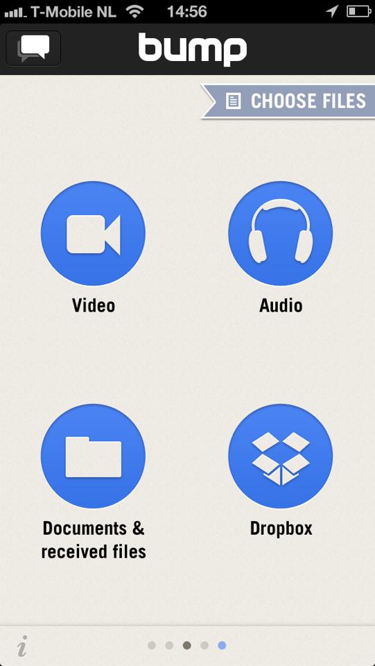 Handige iPhone tools BUMP