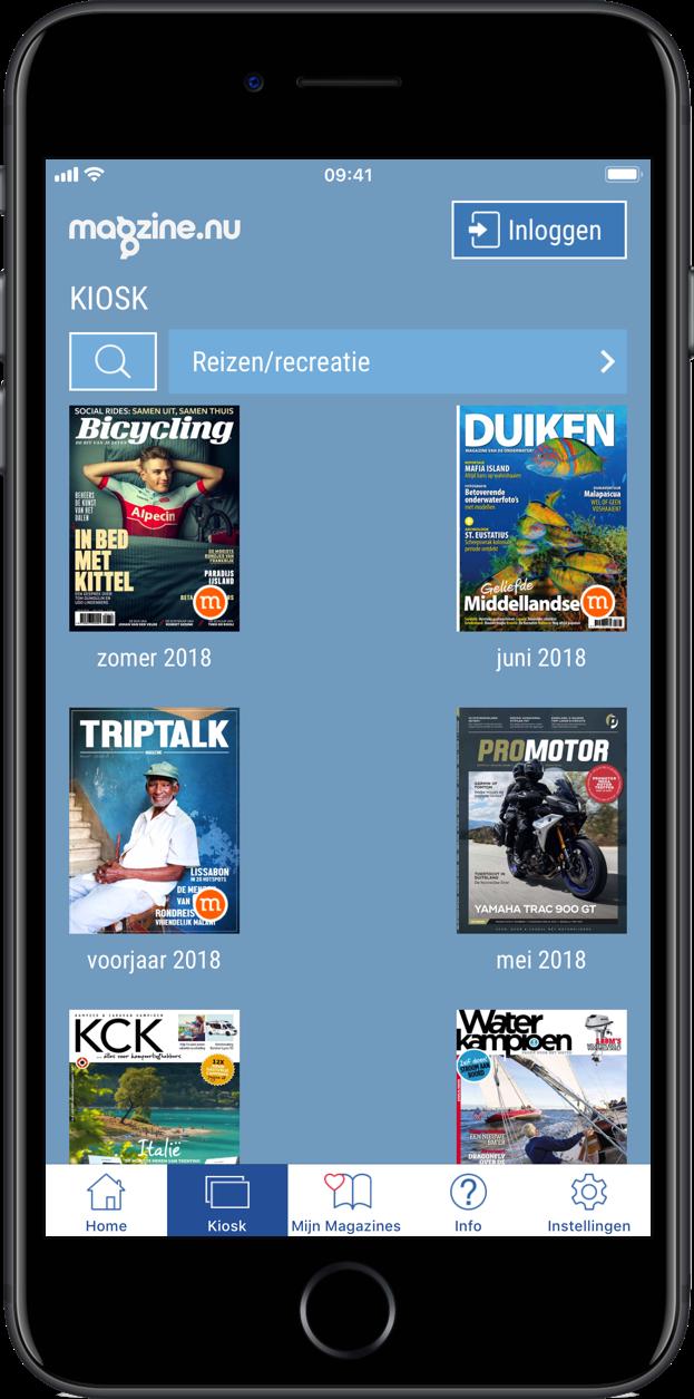 Beste reismagazines voor iPhone en iPad: MagZine