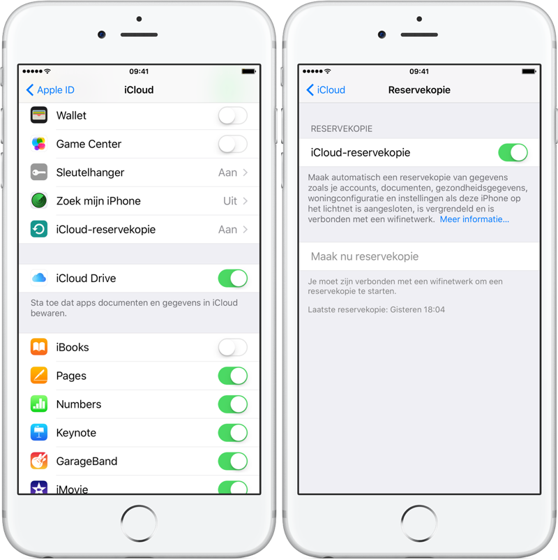 how to download from icloud to iphone 6