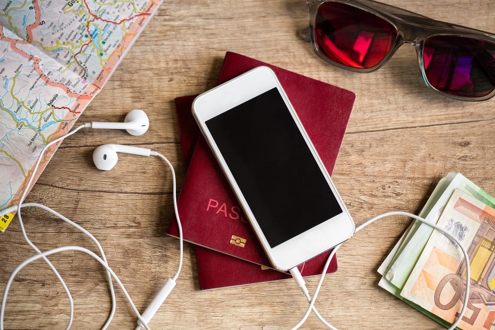 iPhone vakantie